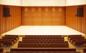 京都堀川音楽高等学校 音楽ホール 内観画像